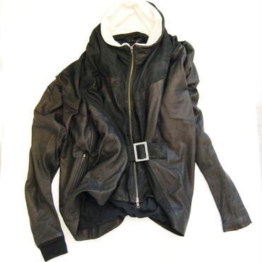 60%OFF!!!SAMPLE SALE!!! SHIROMA 12-13A/W PROGRESSIVE leather jacket