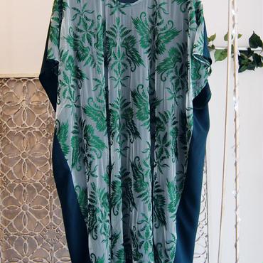 50%OFF!!! SHIROMA 17S/S BREAK embroidery square dress