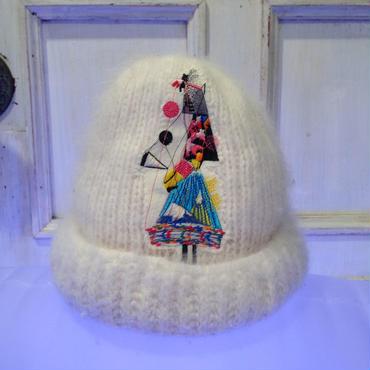 ANEKAWA TAKU knit hat 【2】