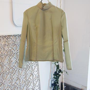 【予約商品】SHIROMA 18-19A/W CHURCH military washer top