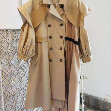 SHIROMA 18S/S ANARCHY overlay coat