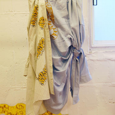 adim×GUSUCUMA dress shirts skirt【2】