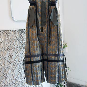 SHIROMA 18S/S ANARCHY Jacquard skirt