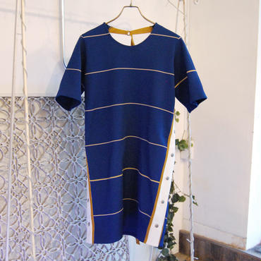 【2月入荷予定】SHIROMA 19S/S rib knit dress