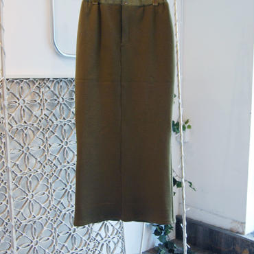 【予約商品】SHIROMA 18-19A/W CHURCH ma-1 skirt