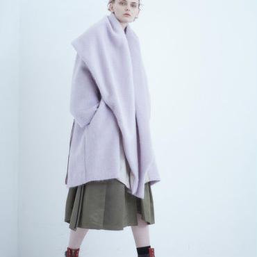 【予約商品:12月中旬入荷予定】SHIROMA 18-19A/W CHURCH shawl collar coat