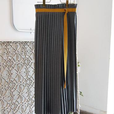 SHIROMA pleats wrap skirt