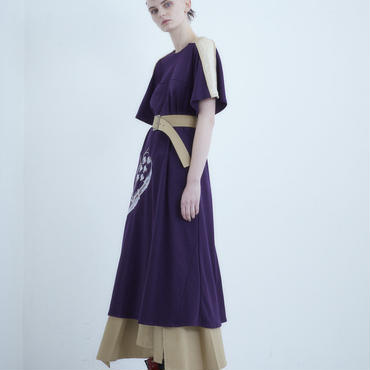 【予約商品】SHIROMA 18-19A/W CHURCH embroidery suka dress