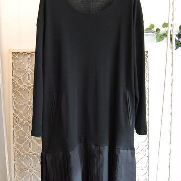 50%OFF!!! SHIROMA 17S/S BREAK pleats easy dress
