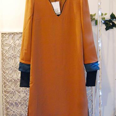 NON TOKYO western dress -brown-