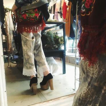 Yan na Maury fringe pajamas pants【1】