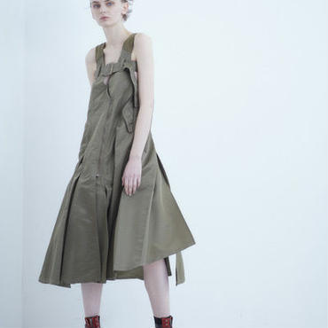 【予約商品】SHIROMA 18-19A/W CHURCH break up ma-1 dress