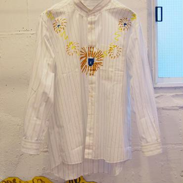 adim×GUSUCUMA docking dress shirt