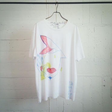 50%OFF!!!VAVADUDU hand drawing autograph T-shirt 【1】