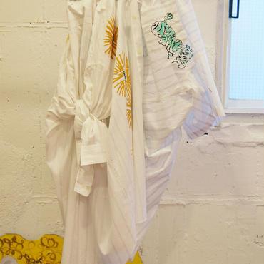 adim×GUSUCUMA dress shirts skirt【1】