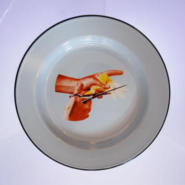 50%OFF!!! SELETTI TOILETPAPER plate 26cm BIRD