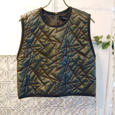 50%OFF!!! SHIROMA 16-17A/W DARK AGES embroidery quilting top