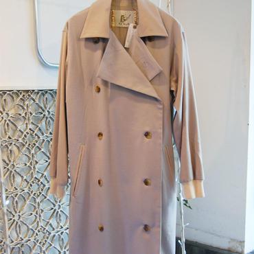 50%OFF!!!SAMPLE SALE!!  Yan na Maury Cashmere coat -light beige-