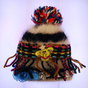 BAVARD-CADEAU deco elephant knit cap