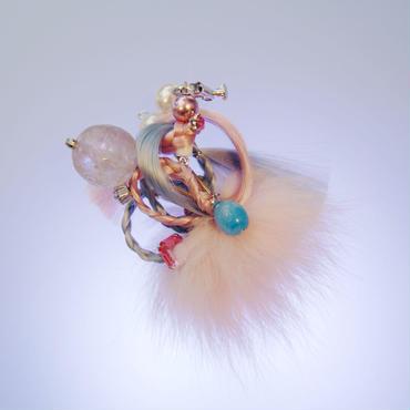 incantesimo fiber earring【G-P014】