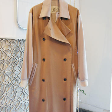50%OFF!!!SAMPLE SALE!! Yan na Maury Cashmere coat -beige-
