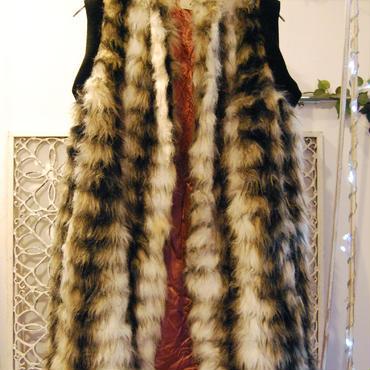 Yan na Maury rib fur vest