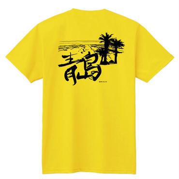 青島Tシャツ(宮崎市)/男女兼用(サンイエロー)