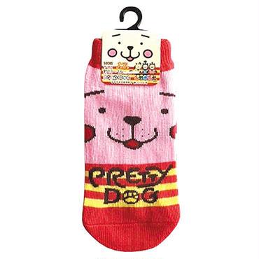 みやざき犬キッズ用ソックス(ピンク)