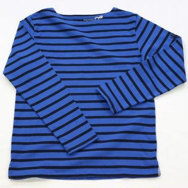 テンジクヤ ボーダー Tシャツ ブルー X ネイビー