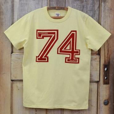 テンジクヤ【74 H.P】プリントTシャツ