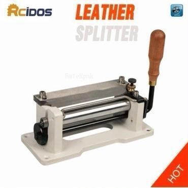 業務用 手動革漉き機 レザースプリッター 刃幅15cm 6インチRCIDOS