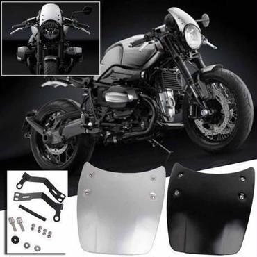 【送料無料!】R nine T 14-16 アルミ フロント シールド スクリーン パネル バイク オートバイ 高品質【新品】