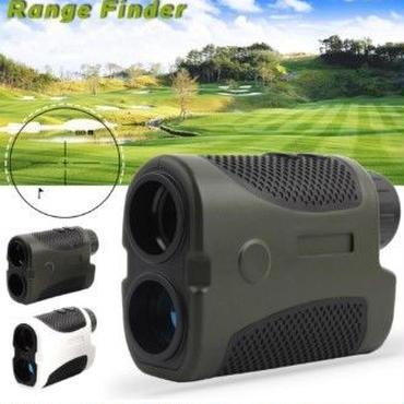 屋外コンパクト ゴルフレーザー距離計400m距離ファインダー単眼望 遠鏡距離計テスター【新品】