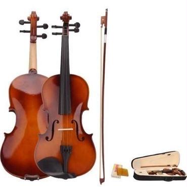 バイオリン 4/4 本体 アコースティック セット 弦 弓 木製 ナチュラル 特殊 高品質