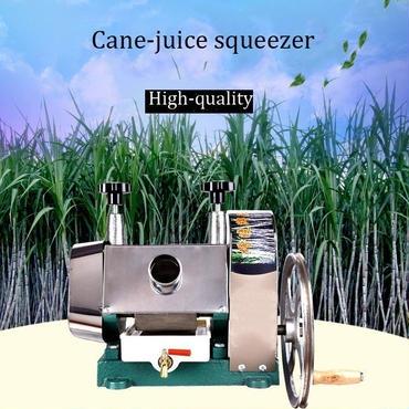 サトウキビ 絞り機 手動 搾汁機 圧搾機 サトウキビジューサー 農具