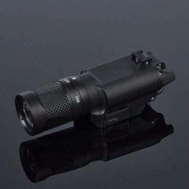 エアガンライト 400lm レールマウント 武器 銃 ピストル ライフル フラッシュ トーチ 懐中電灯