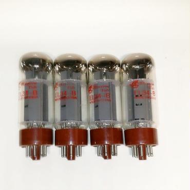 曙光 Shuguang EL34B EL34-B (EL34、EL34A) クワッド 4本セット Vacuume Tube 赤文字
