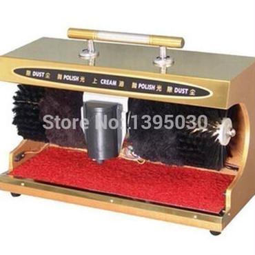 【送料無料!】靴磨きマシン自動Semiportable水平誘導靴の洗浄機