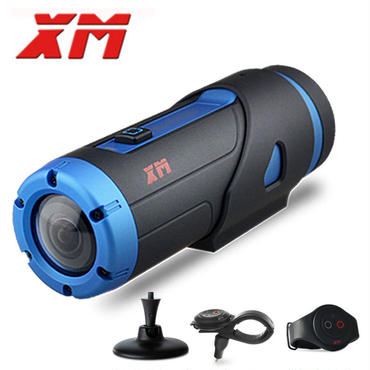 XM スポーツ アクション 防水ビデオカメラ ナイトバージョン スターライトセンサー Wi-Fi HD アクセサリー付
