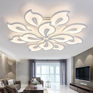 モダン シーリングライト LED 15畳 おしゃれ 洋風 リビング ベッドルーム 180W 85V-260V アクリル