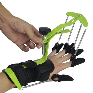 ハンド 理学療法 リハビリ トレーニング 機器 ダイナミック 手首 指 装具 麻痺 患者 腱修復 末端 療法 伸ばし