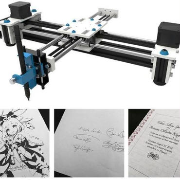 EleksMakerデスクトップ EleksDraw USB DIY XY プロッタペン描画ロボット描画マシン100-240V 描画機 DIY