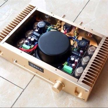 パワーアンプ ゴールド HD1969 クラスA 10W+10W オーディオ