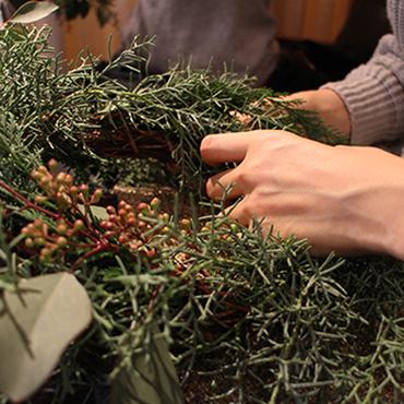 【11/25 (日)26(月) 開催!】christmas  workshop オトナ