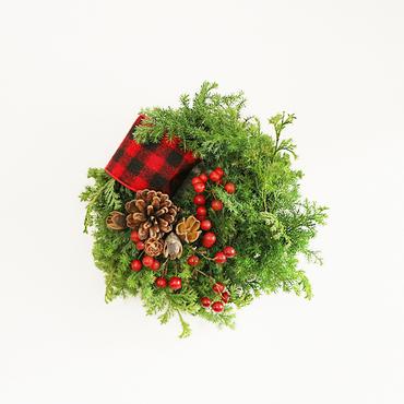 【先行予約】christmas wreath ( S-size)
