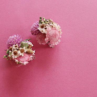 earring : hanabatake/pink