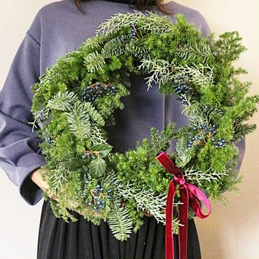 【先行予約】christmas wreath ( L -size )