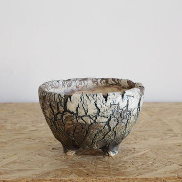 Pot by Wood no.02 φ11×h 6.5cm