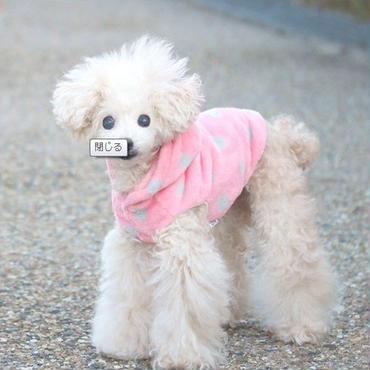 超小型犬 iDog 水玉フリースパーカー XXS、XSサイズ