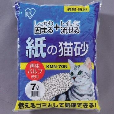 紙の猫砂 固まる、流せる 6個